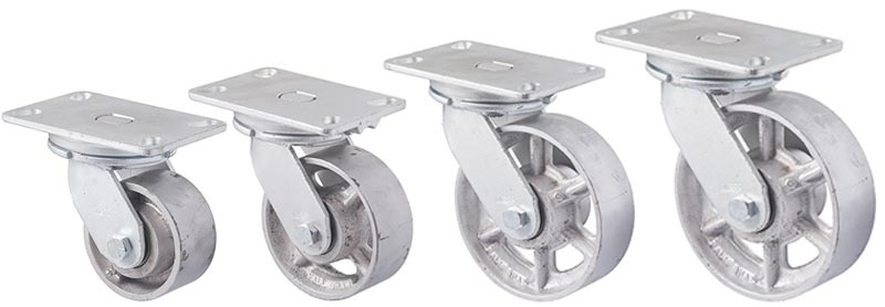 X series forks: Plate with swivel